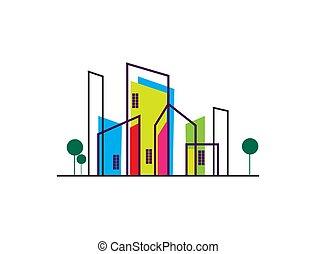 Building Logo Design Template