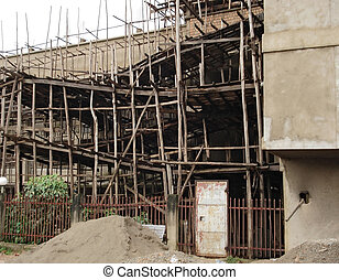 building lot in Entebbe - detail of a building lot in...