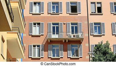 Building, Lugano, Switzerland
