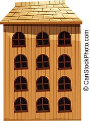 Building made of wood