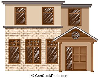 Building made with bricks
