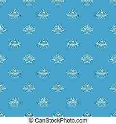 Building materials pattern vector seamless blue