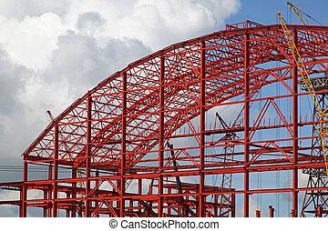 Building metal construction