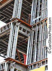Building Metal Frame Structure