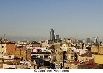 Building missile in Barcelona