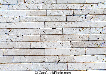 Building natural stone cladding - Facing the building...