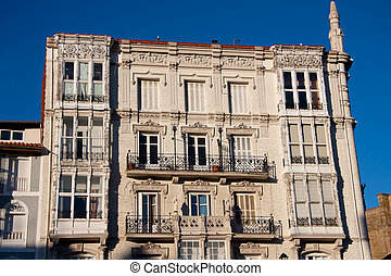 Building of Castro Urdiales