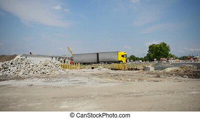 Building of highway