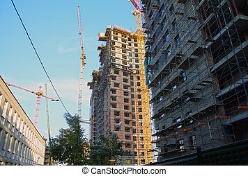 Building of new houses