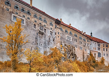 Cesky Krumlov - Building of the Cesky Krumlov, Czech Repulic