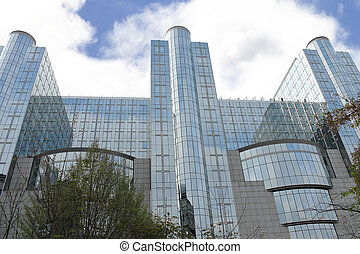 Building of the European Parliament in Brussels