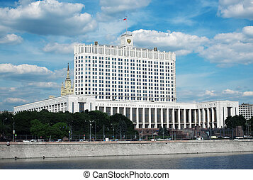 Government of the Russian Federation in Moscow. White House
