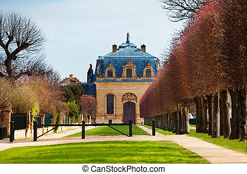 Building of the Great Stables in Chantilly, France