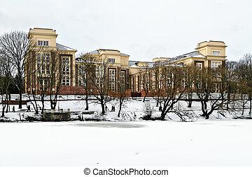 Building of the Kaliningrad regional court. Kaliningrad