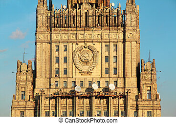 Ministry of Foreign Affairs in Moscow