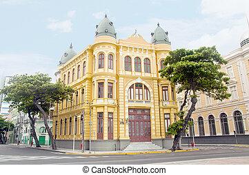 Building on the ancient Recife - Pernambuco - Brazil