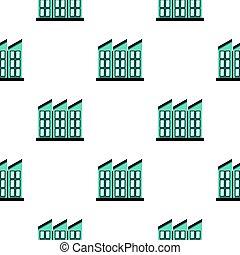 Building pattern flat