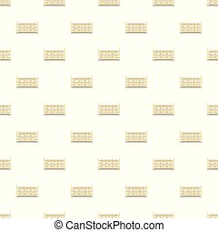 Building pattern seamless vector