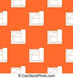 Building plan pattern seamless