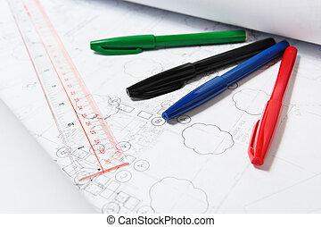 building plan work