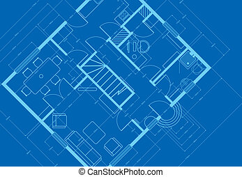blueprint - building plans blueprint