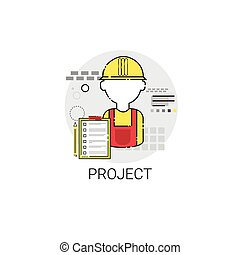 Building Project Construction Engineering Icon