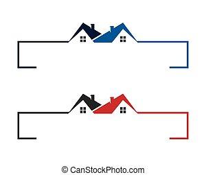 Building Property Logo Template
