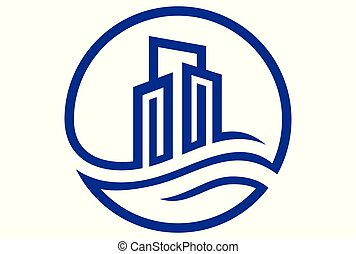 building real estate logo