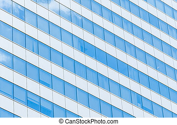 Building Reflection glass