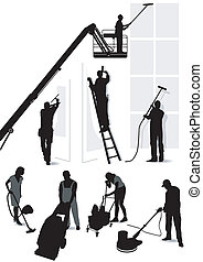 Building services and cleaning