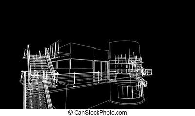 building sketch construction