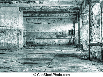 building - High Dynamic Range Image of an Abandoned building...