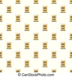 Building structure pattern seamless vector