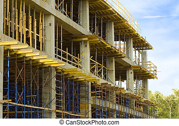 Building under Construction - A building under contruction ...