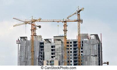 Building Under Construction, Timela - Building Under...