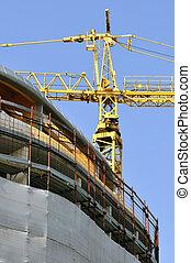 Building under construction - vertical