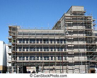 Building under restoration