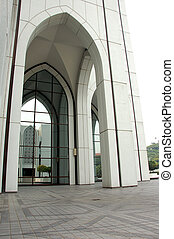 Building with islamic characteristic - morden buidling with ...