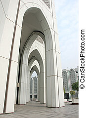 Building with islamic characteristic4 - morden buidling with...