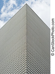 Building with Metal Surface