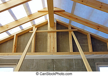 Building Your Home 2 - The device of the roofing system of...