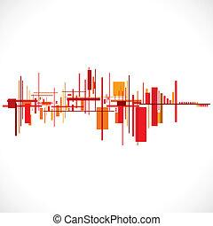 building/cityscape, abstrakcyjny