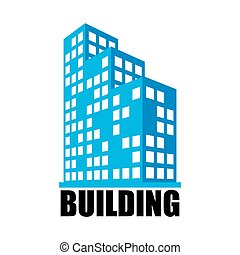 Buildings and office icon