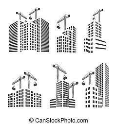 Buildings construction set