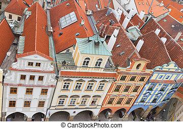 Buildings from Prague, Czech Republic