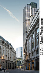 Buildings in city of London