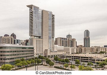 Buildings in Dallas Downtown