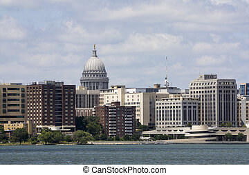 Buildings in Downtown of Madison