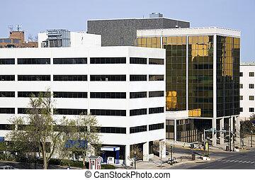 Buildings in Lexington, Kentucky.