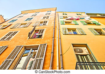 Buildings in Nice, French Riviera